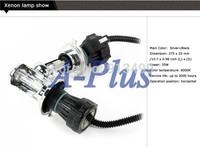 2Pcs 35W Bi-Xenon Lamp Hi/Lo Beam HID Bulb Car Xenon Headlight Light H4 H4-3 6000K 15535