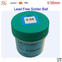 Free shipping! PMTC 250K 0.55MM Lead free BGA solder Ball For bga repair,bga reballing kit