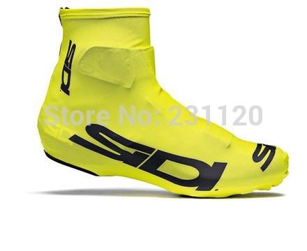 Radschuhe abdeckung!!! 2014 radsport-Überschuhe gelb shoe cover männer Überschuhe Fahrrad/fahrrad zubehör