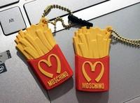 New 2014 McDonald's fries 3.5mm Dust Plug Earphone Plug For Iphone & Ipad & Samsung& HTC,Wholesales