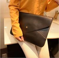 The new trend of the envelope bag hand shoulder bag computer bag