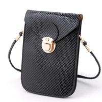 Mini retro fashion phone bag lady shoulder diagonal package