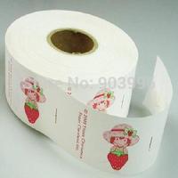 Free shipping-Wholesale Customize Logo Garment Label Logo print Water Wash Label