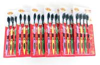 2014 new! Free shipping 100pcs sets Korea Bamboo charcoal toothbrush #H0093