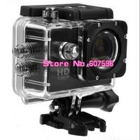 F23 1.5-inch LCD 30M Waterproof FHD 1080P H.264 Sports Digital Camcorder Car DVR Mini DV with HDMI /TF Slot (Black)