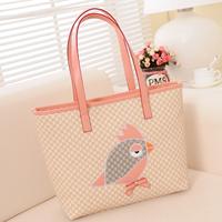 2014 trend women's genuine leather handbag one shoulder ladies handbag vintage tassel female bag big bag