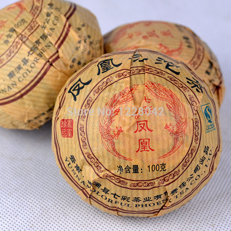 Premium Yunnan puer tea Old Tea Tree Materials Pu erh 100g BAG Ripe Tuocha Tea Secret