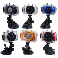 New Sports DVR Helmet Waterproof HD Action Camera Sport Outdoor Camcorder DV Hot Digital Video Camera, Free Shipping