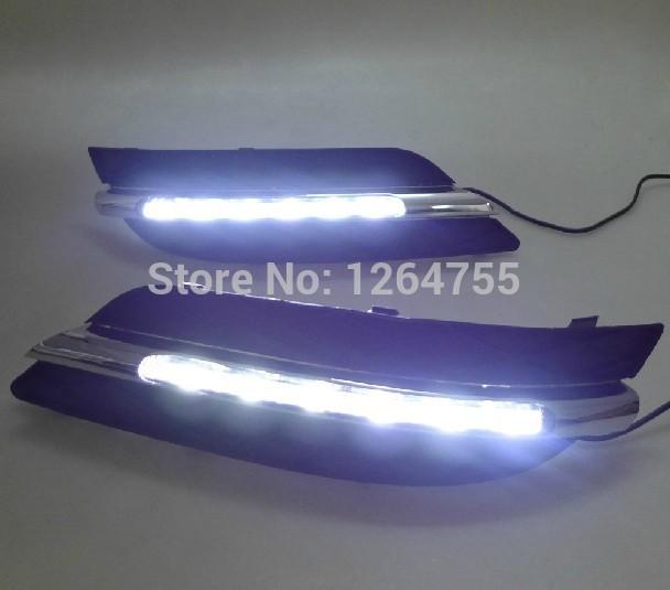 New Daylight Running Light DRL for Mercedes BENZ W245 B150 B180 B200 2009-2010,Free Shipping(China (Mainland))
