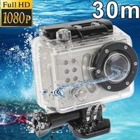 SDV-500 Full HD 1080P Waterproof 5.0 Mega Pixels Sports DV Camera Skiing/Surfing/ Motorcycle Race/Bungee Jumping, 30m Waterproof