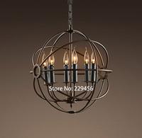 Creative Vintage Pendant Light American Industrial LOFT Parlor Bar Cafe Decor Lighting E14 110-240V