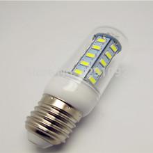 LED Lighting 220 v energy-saving 7 w 5730 super bright led corn bulb E27 screw type E14 candle 360 degrees,Free shipping (China (Mainland))