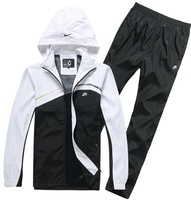 Men's casual sportswear sports suit still spell color men sports and leisure clothing