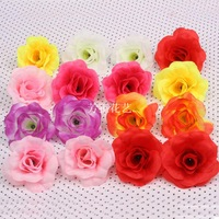 FREE SHIPPING New Arrival 50pcs/Lot 9CM Foam Rose Flower Handmade DIY Home Decoration Artificial Flowers Head,Wedding 8Colors