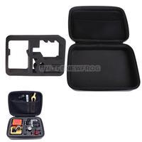 UN2F Waterproof PU Leather Anti-shock EVA Case Bag Box for GoPro Hero 3 3+ 2 1
