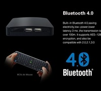 Measy B4K Allwinner A31 Cortex A7 4K*2K Ultra HD Android TV Box Mini PC Webcam Camera 3D Blue-ray HDMI Media Player