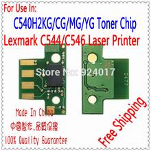 Compatible Lexmark Refill Toner Chip C544 C546 Printer,Toner Chip For Lexmark C540 Printer,Use For Lexmark C544 C546 Toner Chip