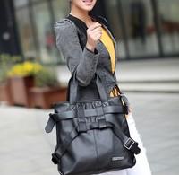 2014 women's genuine leather fashion handbag one shoulder handbag cowhide cross-body