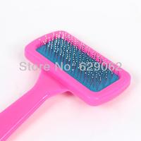 100pcs/lot Dog comb cat comb Pet comb needle with protection Delicate cabinet  have elastic