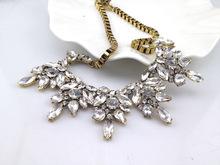 Hot brand z necklace fashion jewelry chunky luxury choker statement necklace flower Necklaces Pendants women NJ
