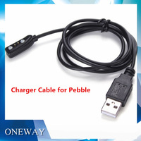 200pcs/lot  2014 Hot Selling!  Pebble Accessories USB Charger Cable for  Pebble