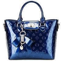 Fashion trend vintage japanned leather bag handbag women's bags fashion women's handbag