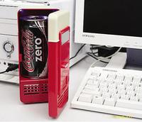 Wow ! cool ! Hot and cold dual-use 5V Mini USB fridge Portable Computer / car refrigerator  New strange gift