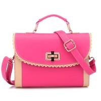 Mona lisa 2014 fashion bag small messenger bag one shoulder genuine leather bag fashion bag girls