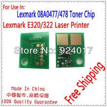 Chip For Lexmark E320 Reset Chips,Compatible Lexmark Refill E322 E320 Toner Chip,Reset Chip For Lexmark 320 322 Printer Laser