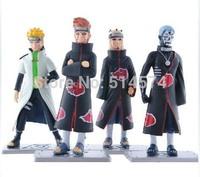 Naruto Action Figures Namikaze Minato PVC Figure Toys 4pcs/set NTFG033