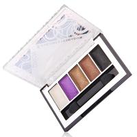 Rosalind New 2015 Professional 5 Color Eyeshadow Eyeshadow Cosmetics Makeup Palette Set Free Shipping