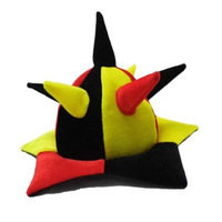 2014 Brazil World Cup Fans Cheer Props Carnival Hat  Fan Hedgehog Cap Free Shipping
