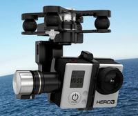 Free Shipping DJI Zenmuse H3-3D 3-Axis FPV Camera Gimbal Z15 for Gopro Hero 3 Photography w/ DJI Controller (Standard Version)