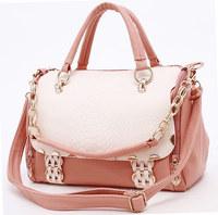 Brand women's handbag 2014 the trend of casual fashion handbag women's cross-body bag gentlewomen color block