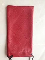 2014 manufacturers custom-made leather glasses bag, sunglasses bag, 6 colors manufacturers selling price