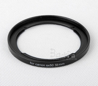 Fit 58mm uv cpl nd filter thread lens adapter ring for CAN0N powershot sx50 HS camera lens accessories sx50 to 58mm diameter