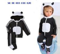 wholesale brand children sport suit baby hoodies +pants 2pcs set children clothing sport set kids autumn clothes 5 set/lot