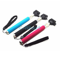 Portable Monopod Extendible Selfprotrait Telescopic Holder For Camera & Phone
