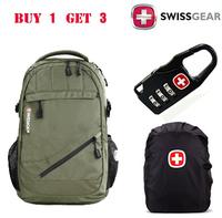 swiss army knife backpack men laptop bag swissgear backpacks sport of men's business travel school bags for boy