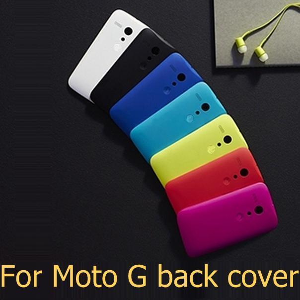 100% original For Motorola Moto G DVX XT1032 phone bags protective shell battery housing door back cover cases + 1x screen film(China (Mainland))