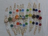 Fine imitation crystal Rose Bracelet