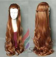 film The Lord of the Rings cosplay Hobbits Female lolita elves Tauriel hair cosplay wig