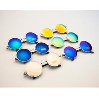 New 2014 Sunglass Vintage Round Unisex Sunglasses Metal Frame Mirror Lens Love Retro Sunglasses Unisex Shades Punk Glasse
