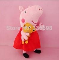 18cm  Peppa Pig Toys New Baby Anime Toys Pepa Pig Peppa Pig Plush Family Set Doll Chilren Gilrs Boys