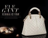 New 2014 Hot Sale Women's Fashion Designer Leather Handbags Women High Quality Brand Handbag White Messenger Bags Free Shipping