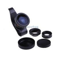 LX-P301 0.67X 3In1 Fisheye Wide Angel Macro Lens Set for iPhone4 4S V3NF