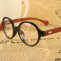 NEW RETRO round Rivets Wood eyeglasses frames JAPANESE HANDMADE big Wooden Optical frames Wooden Computer spectacles AR COATED