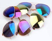 11 Colors New 2014 Fashion sunglasses Brand Designer Men Women Aviator 3025  Beach sun glasses 1pcs Free shipping