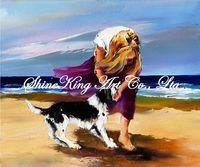 Palette Kinfe Oil Painting  Modern Art  Impressional landsape Canvas Paintings K700 50x60cm