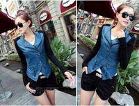 2014 New Spring Autumn Outerwear Fashion Varsity Patchwork Ladies Bomber Jacket Women Female Plus Size Coat  10247